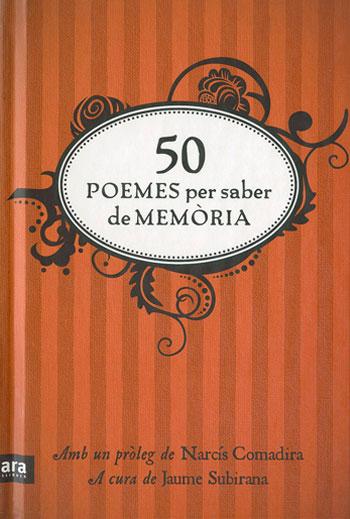 50 poemes per saber de memòria